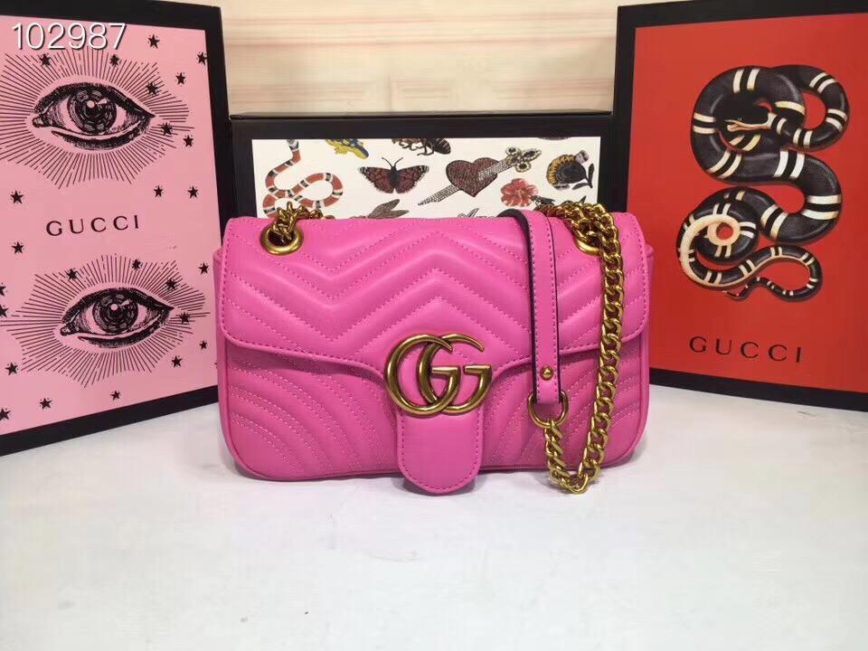Túi Xách Gucci Marmont Super size 22 da bo (99)