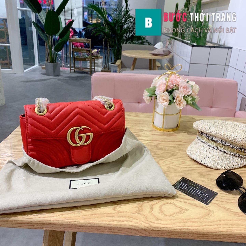 Túi Xách Gucci Marmont Supersale size 22cm – 446744