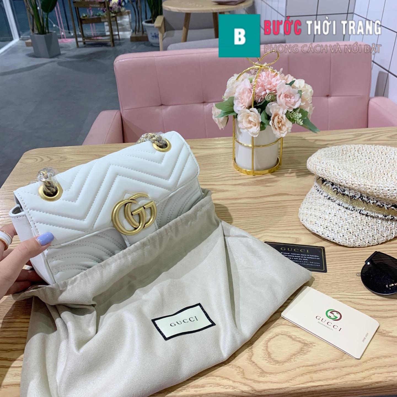 Túi Xách Gucci Marmont Supersale size 22cm – 446744 (19)