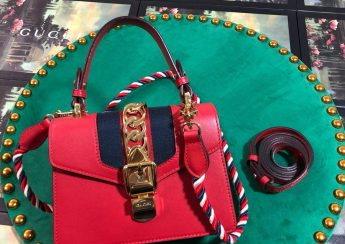 Túi Xách Gucci Sylvie Siêu Cấp Size 20cm - 470270