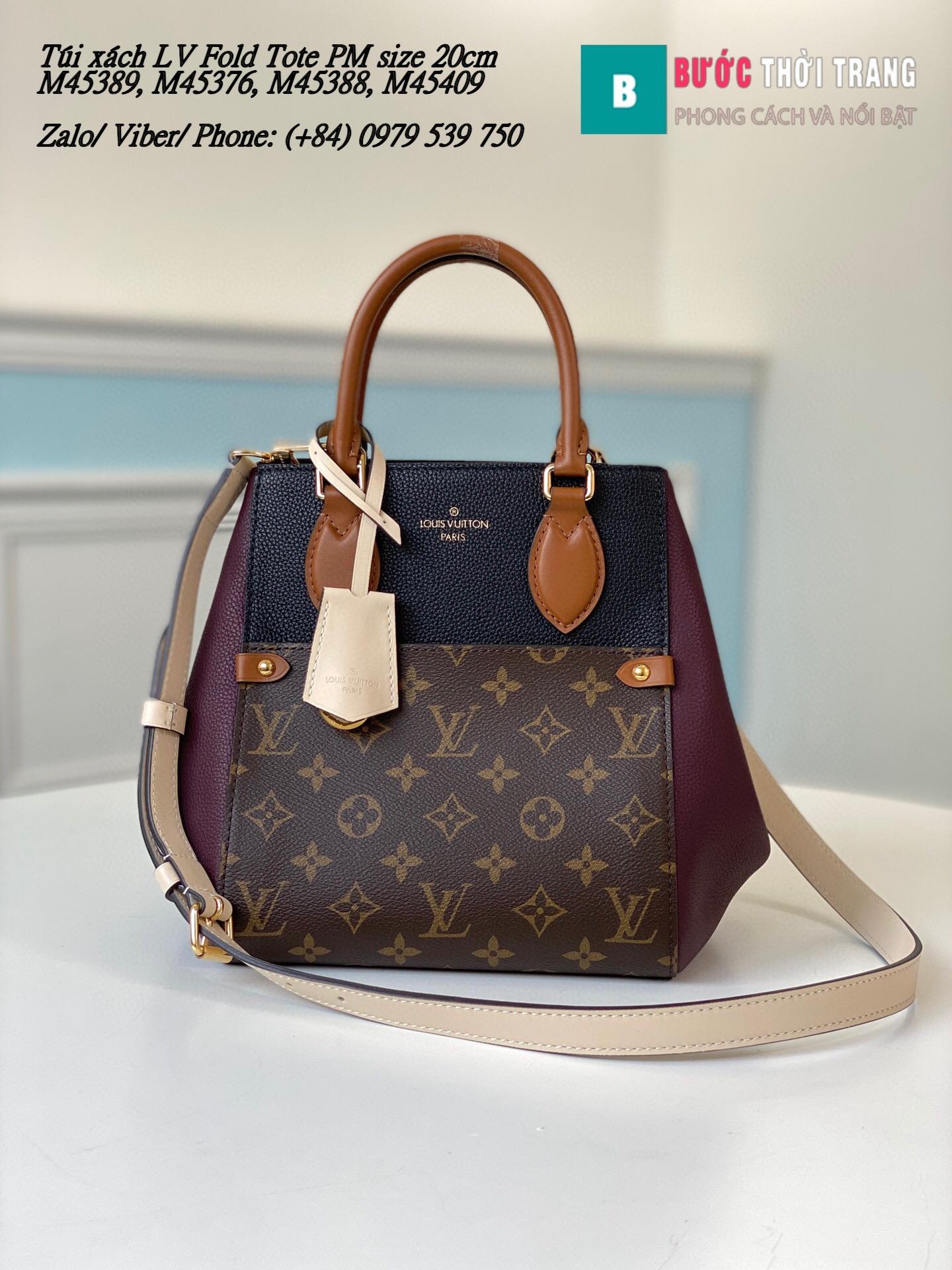 Túi Louis Vuitton LV Fold Tote PM siêu cấp size 20cm (28)