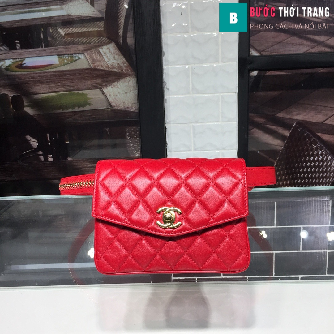Túi xách đeo bụng Chanel siêu cấp (41)
