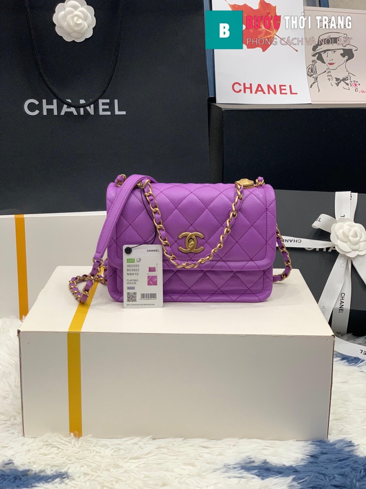 Túi xách Chanel Crossbody Bag siêu cấp size 22 cm – AS2055 (10)