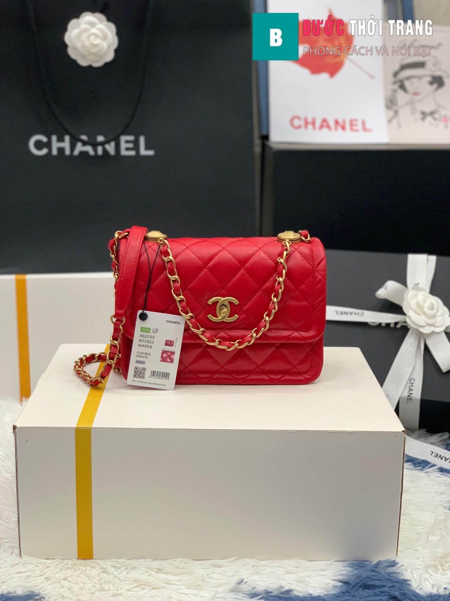Túi xách Chanel Crossbody Bag siêu cấp size 22 cm – AS2055 (27)