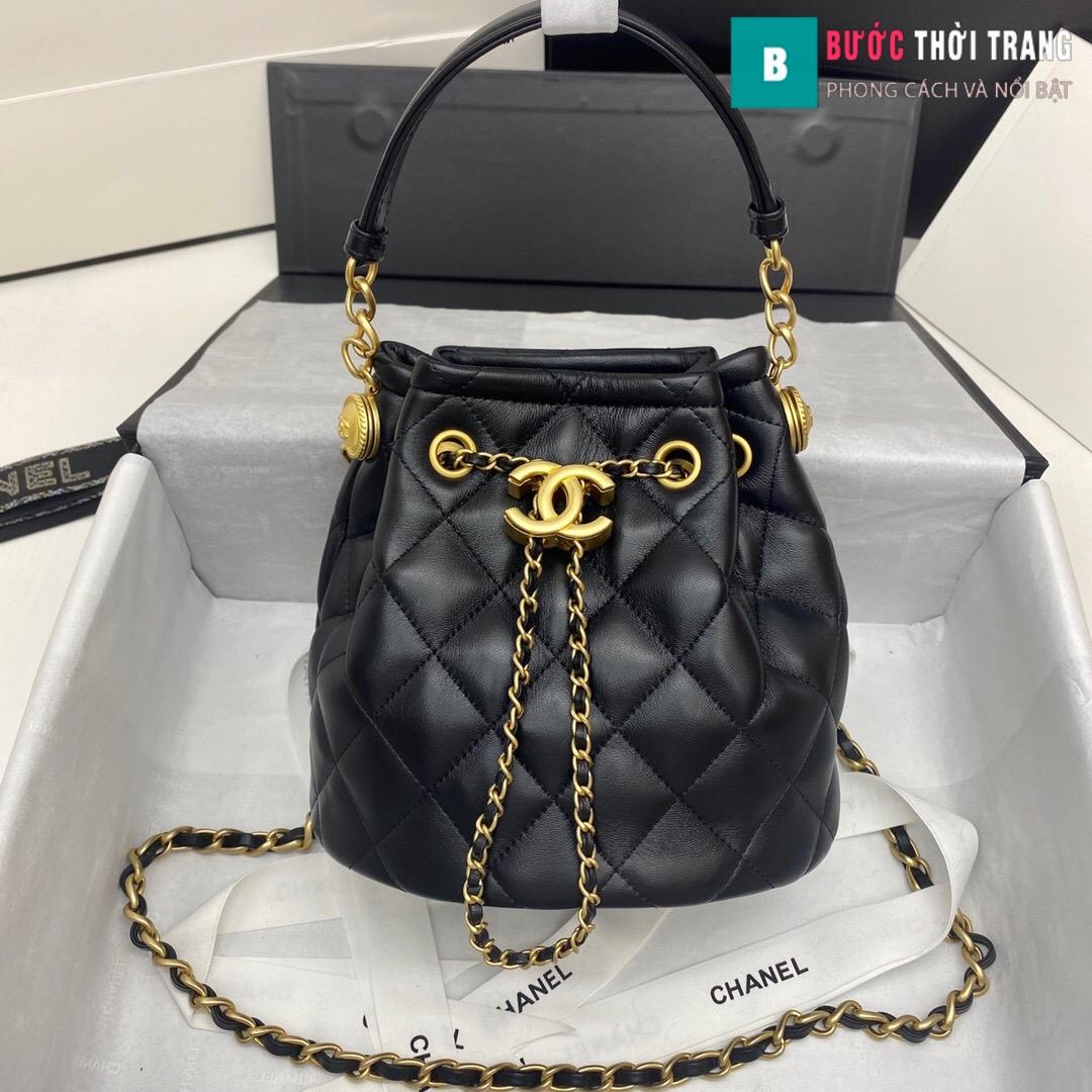 Túi xách Chanel Drawstring Bag siêu cấp (1)