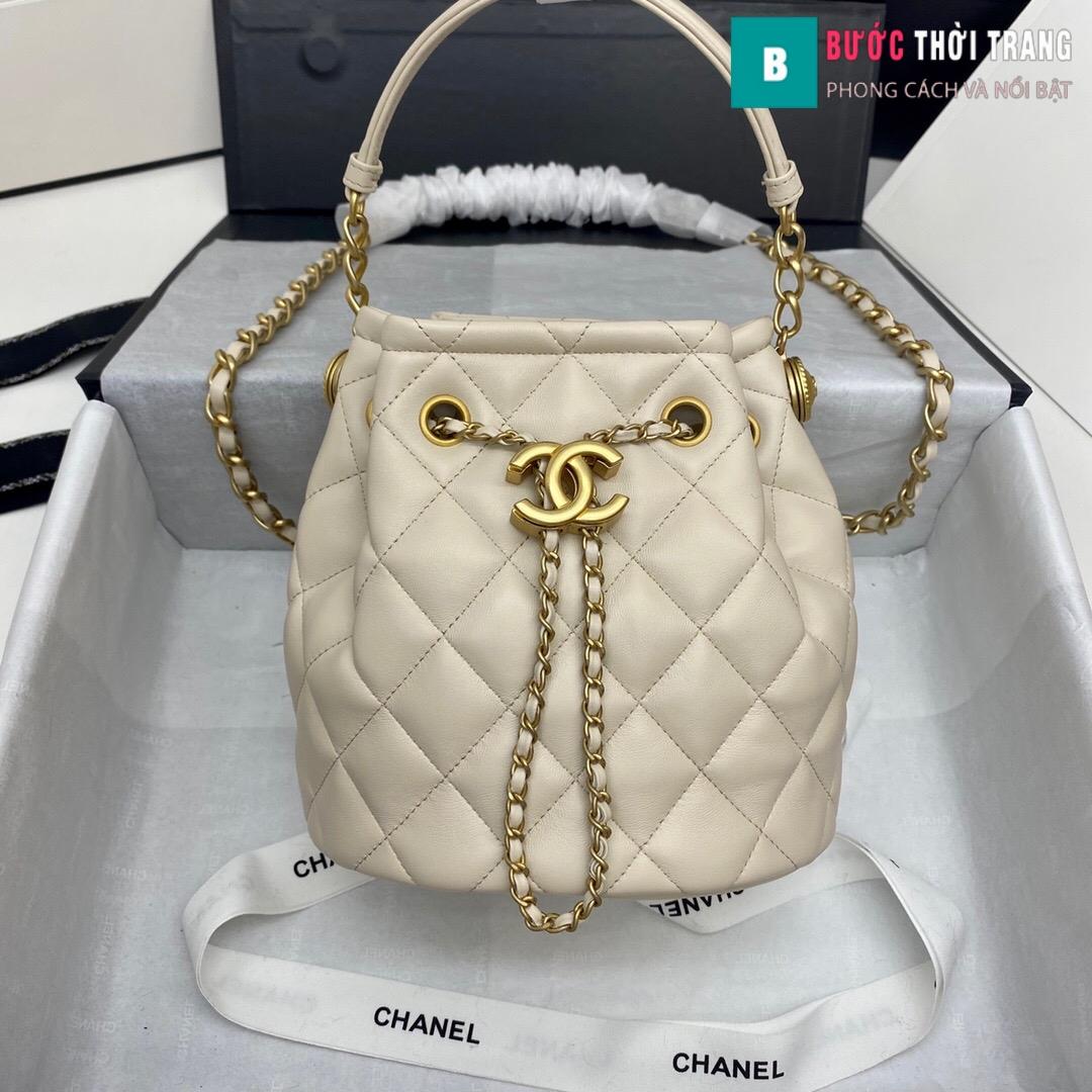 Túi xách Chanel Drawstring Bag siêu cấp (10)
