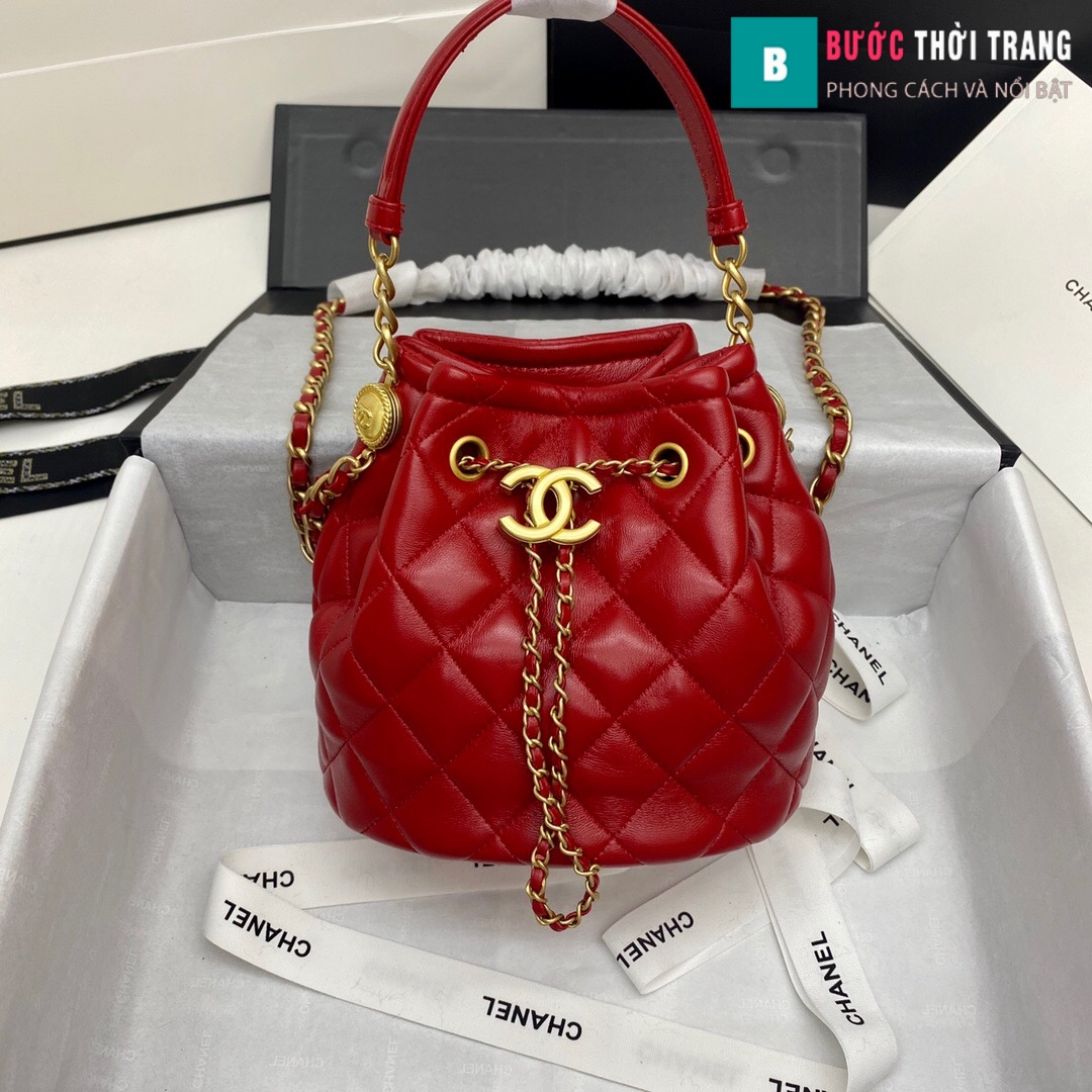Túi xách Chanel Drawstring Bag siêu cấp (28)