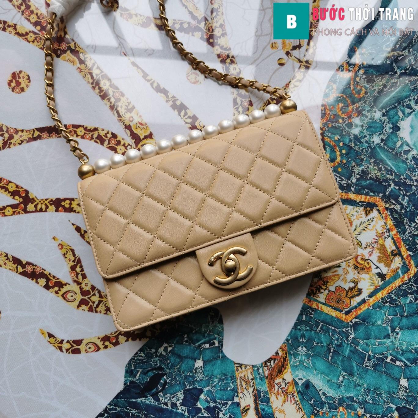 Túi xách Chanel Pearl chanin bag (19)