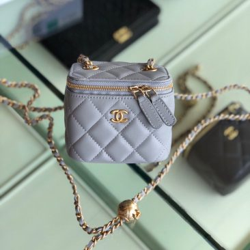 Túi xách Chanel Small vanity bag with strap (28)Túi xách Chanel Small vanity bag with strap (28)