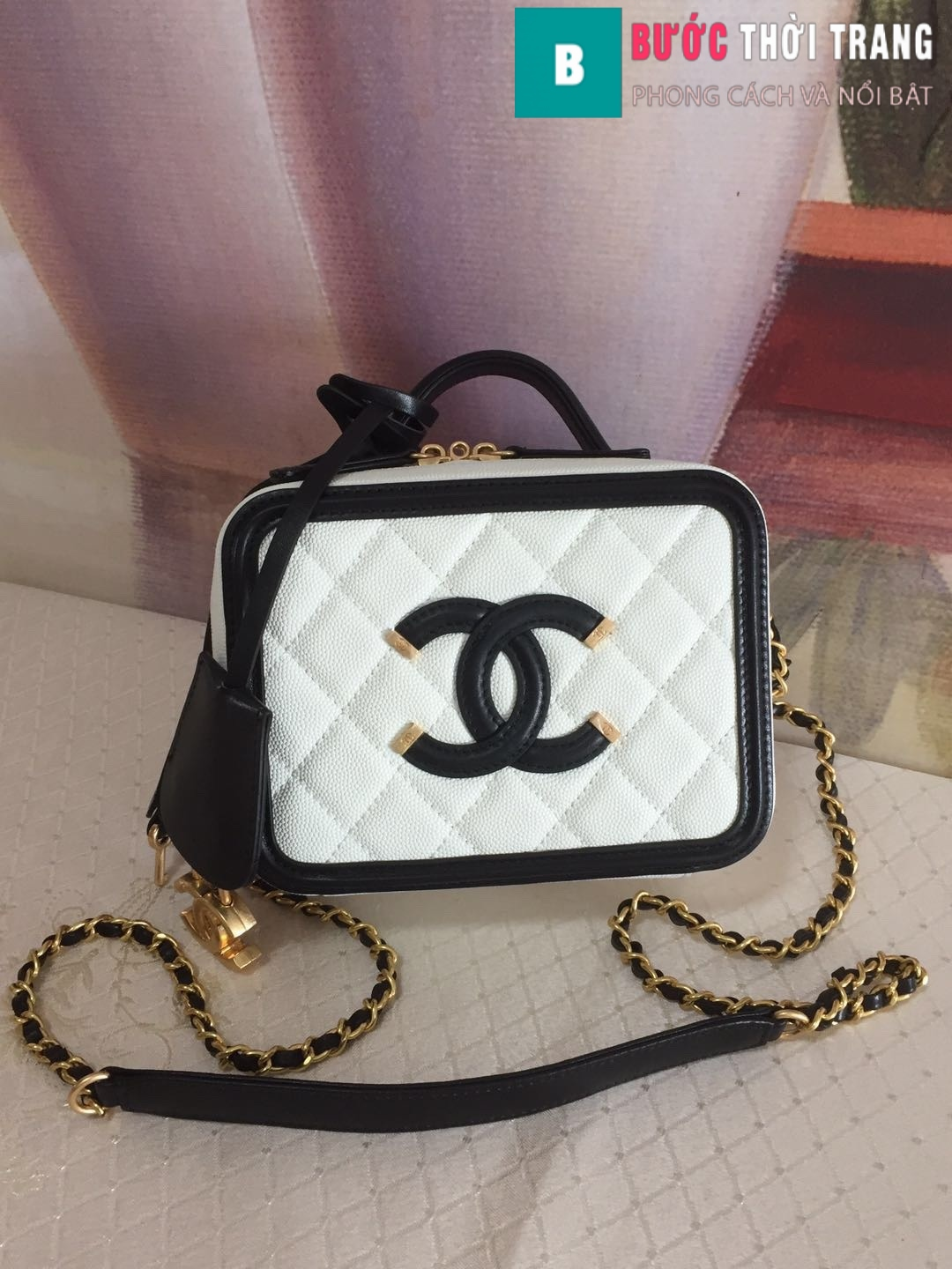 Túi xách Chanel Vanity case bag (1)