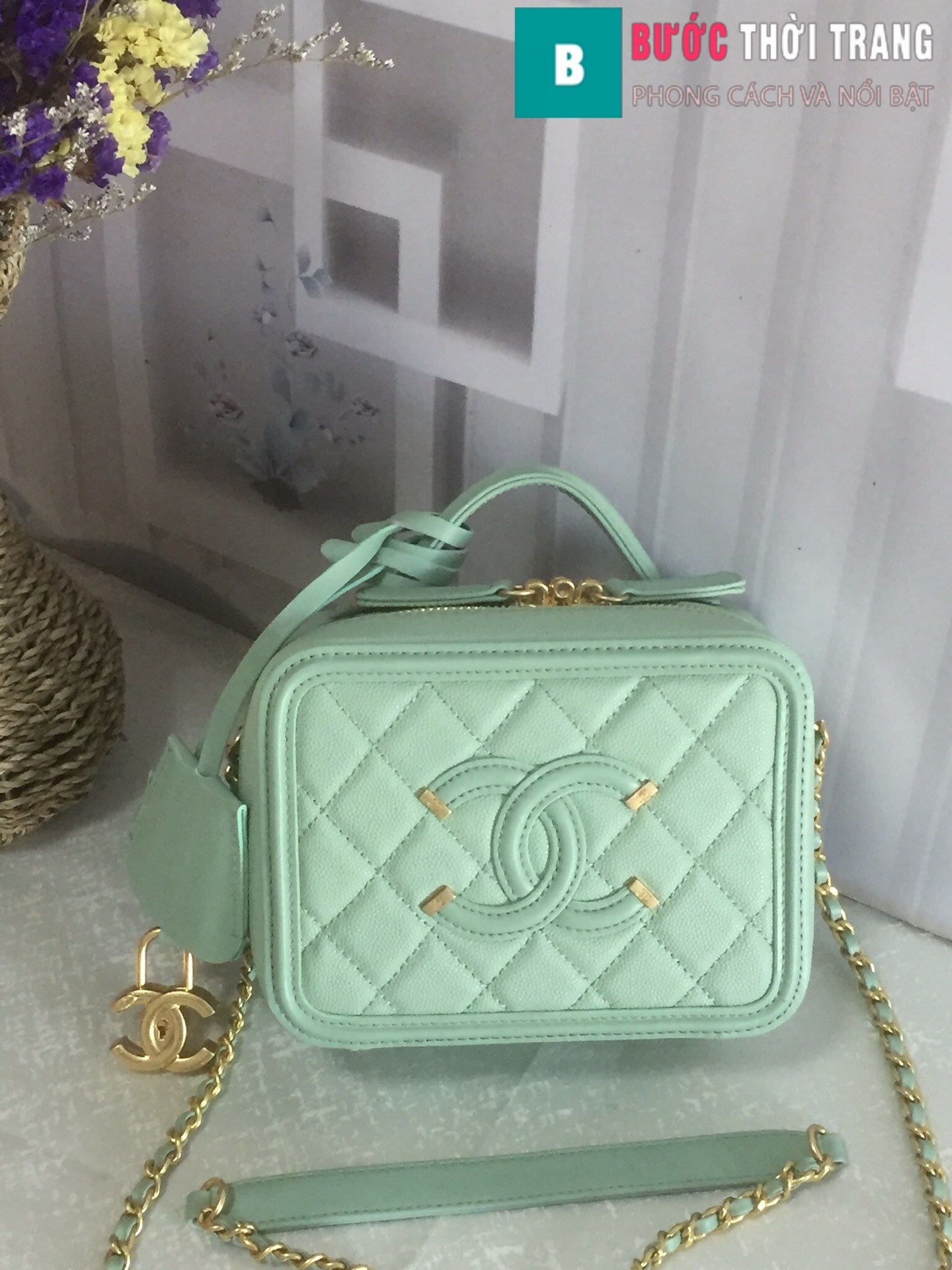 Túi xách Chanel Vanity case bag (17)