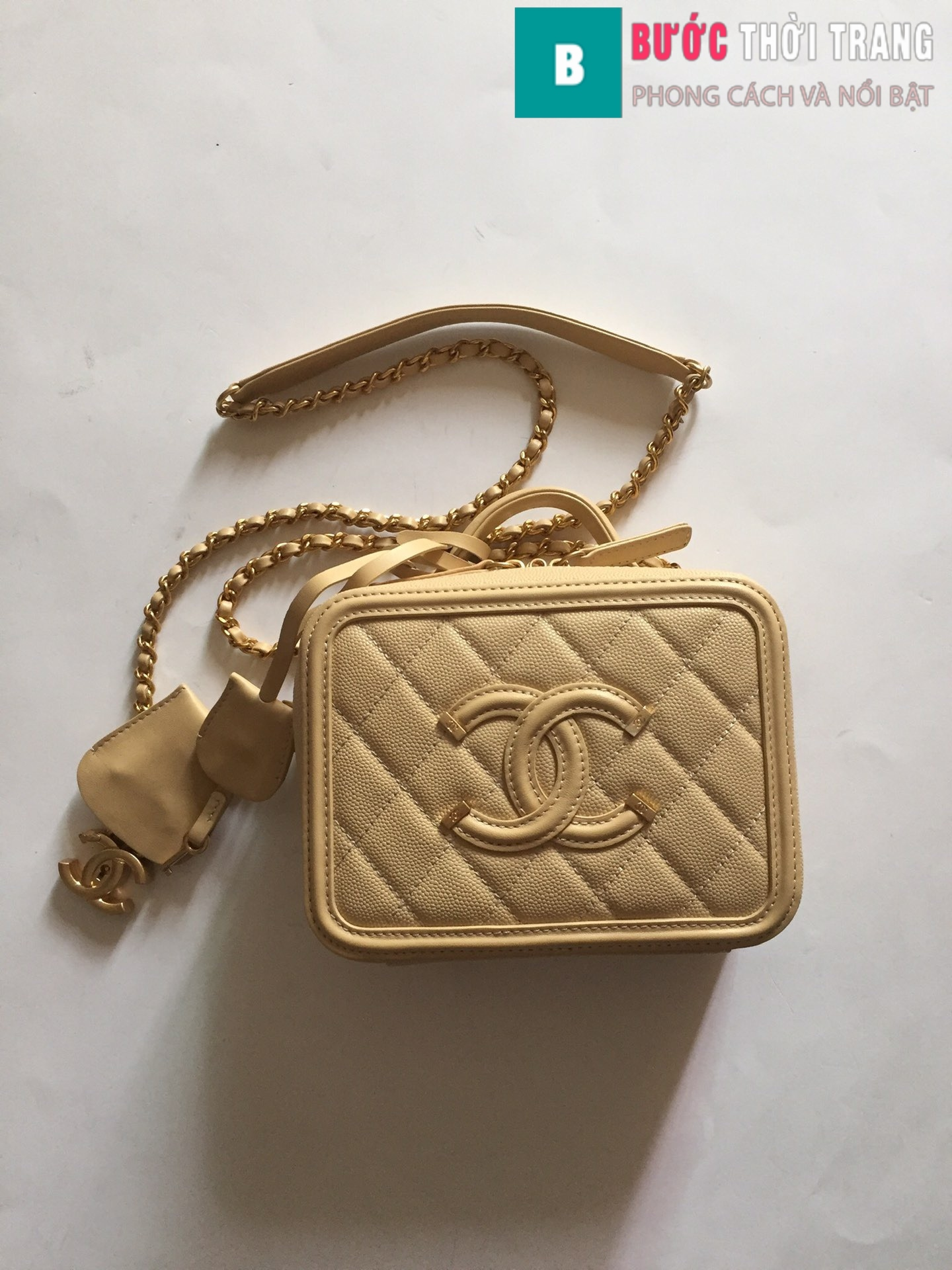 Túi xách Chanel Vanity case bag (49)