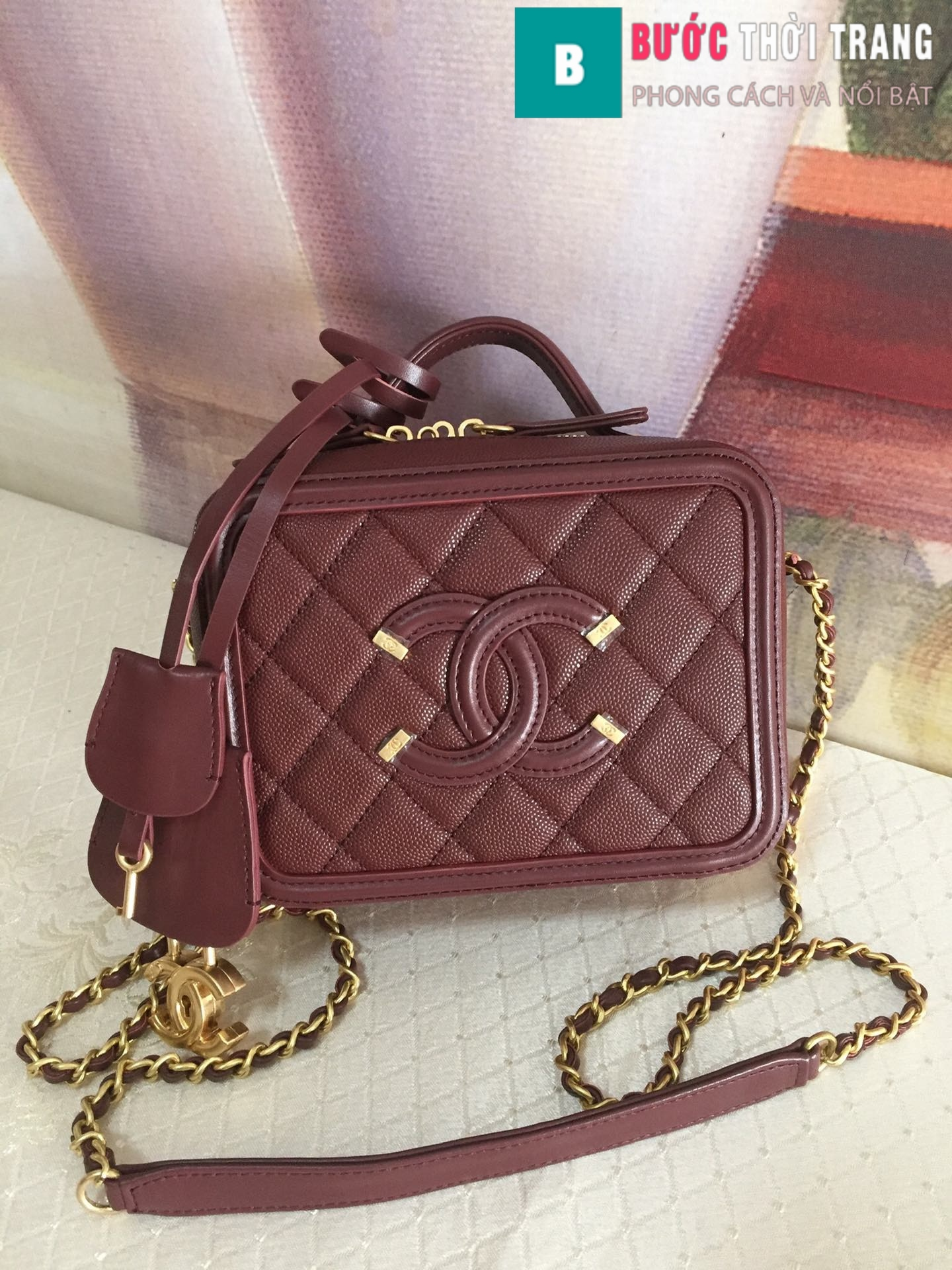 Túi xách Chanel Vanity case bag (57)