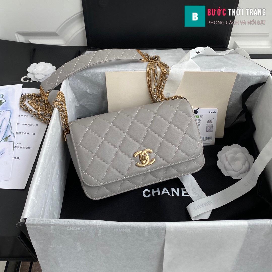 Túi xách Chanel Woke Classic Fap siêu cấp da cừu – AS2052 (10)