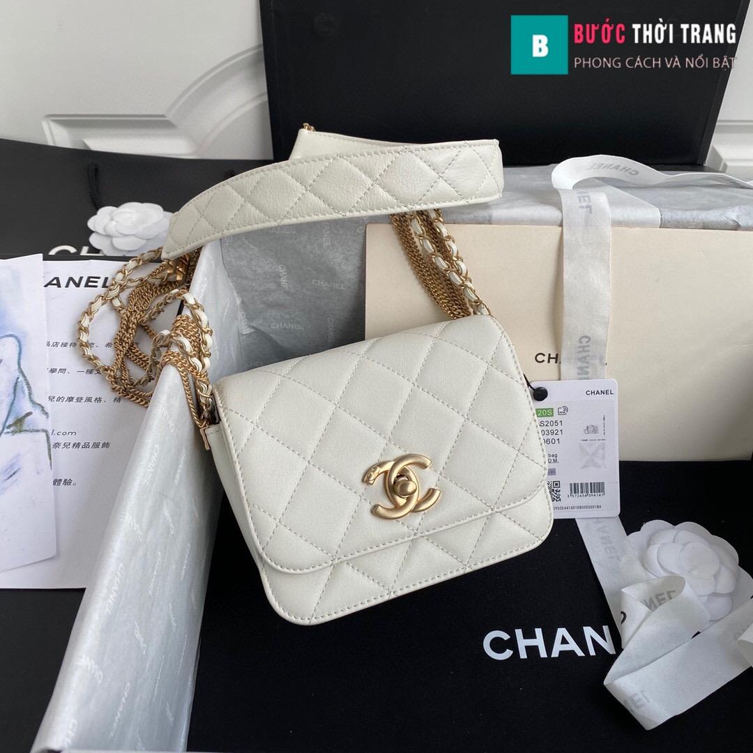 Túi xách Chanel Woke Classic Fap siêu cấp da cừu size 15cm – AS2052 (28)