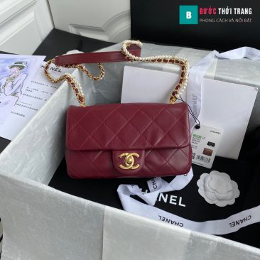 Túi xách Chanel flap shoulder bag siêu cấp size 21 cm - AS2210 (10)