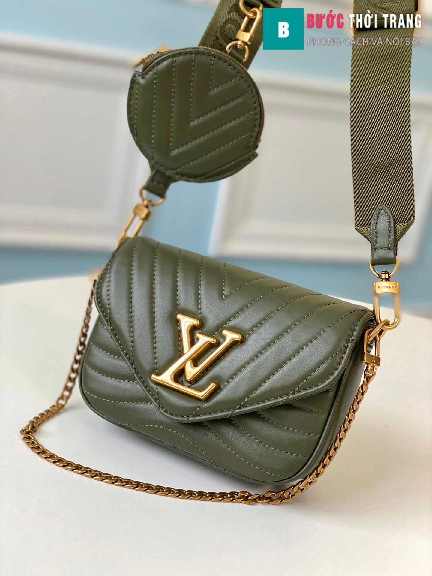 Túi xách LV Louis Vuitton New wave Multi-Pochete (10)