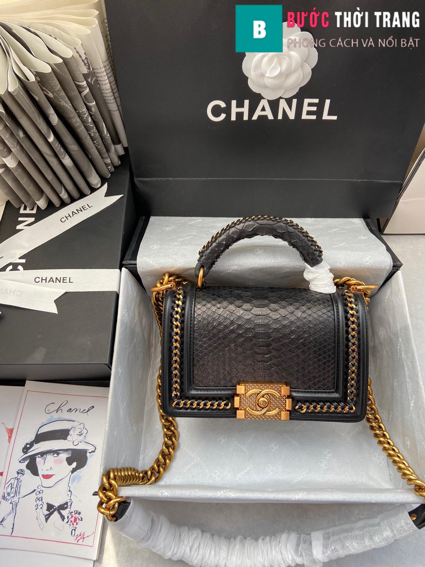 Túi xách Chanel boy siêu cấp – 94805 (100)