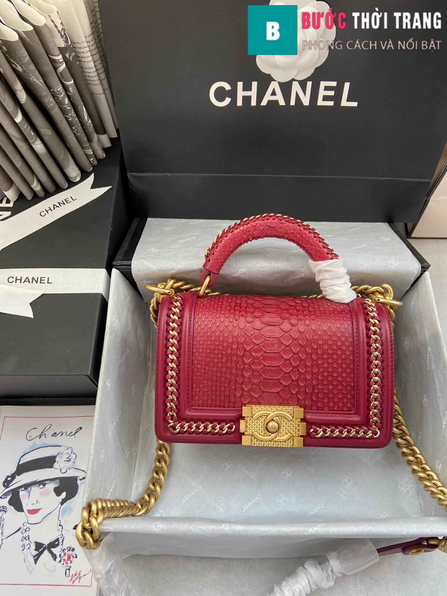 Túi xách Chanel boy siêu cấp – 94805 (127)
