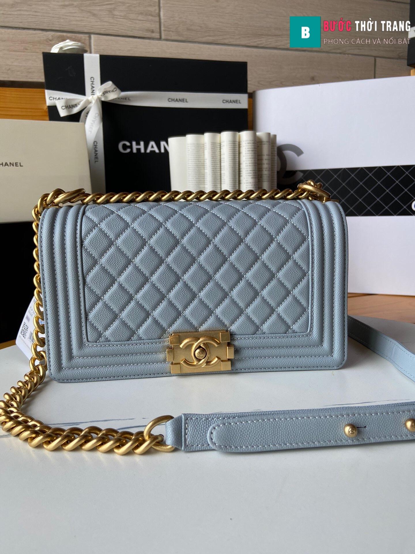 Túi xách Chanel boy siêu cấp – A67086 (19)