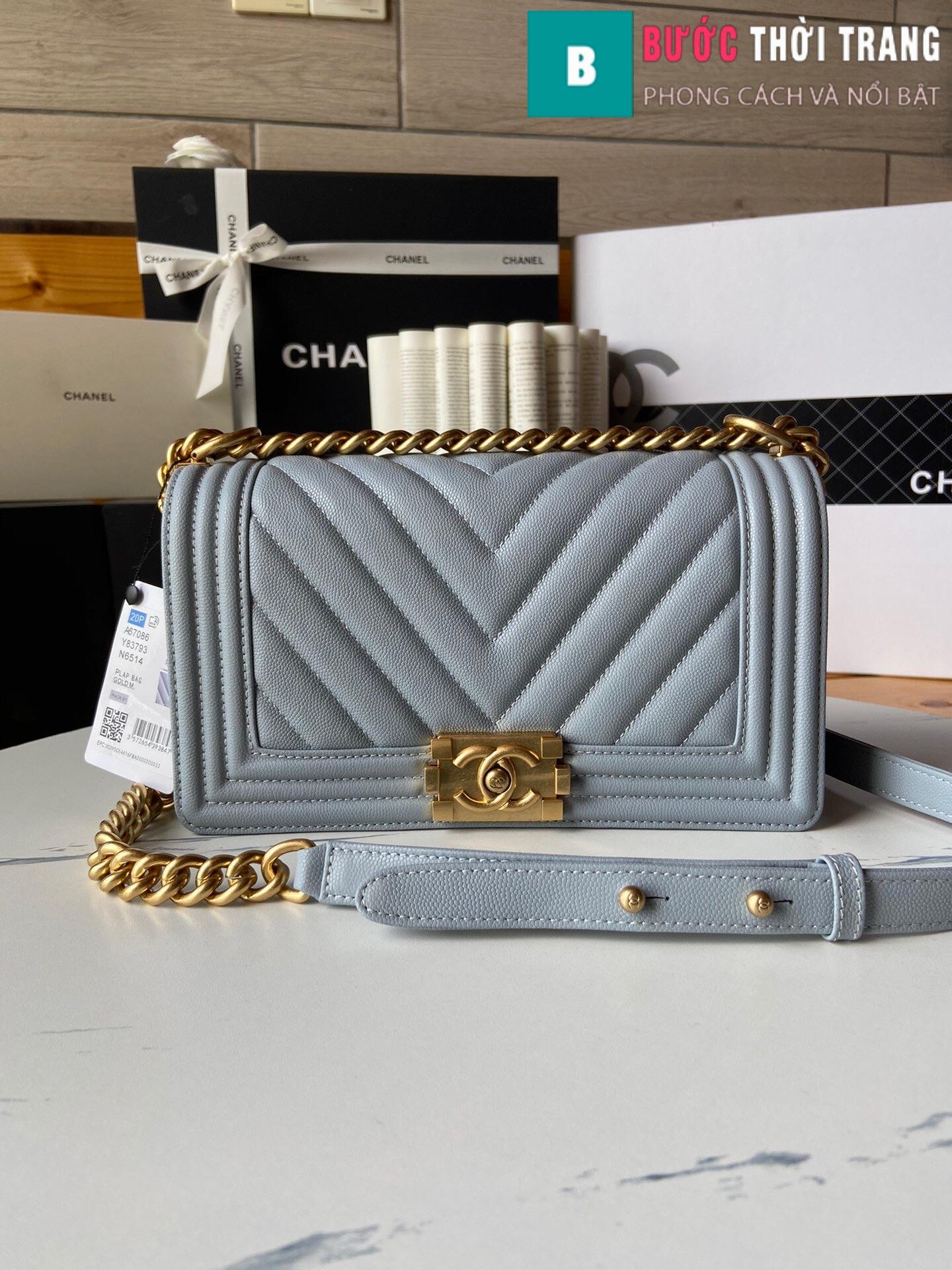 Túi xách Chanel boy siêu cấp – A67086 (33)