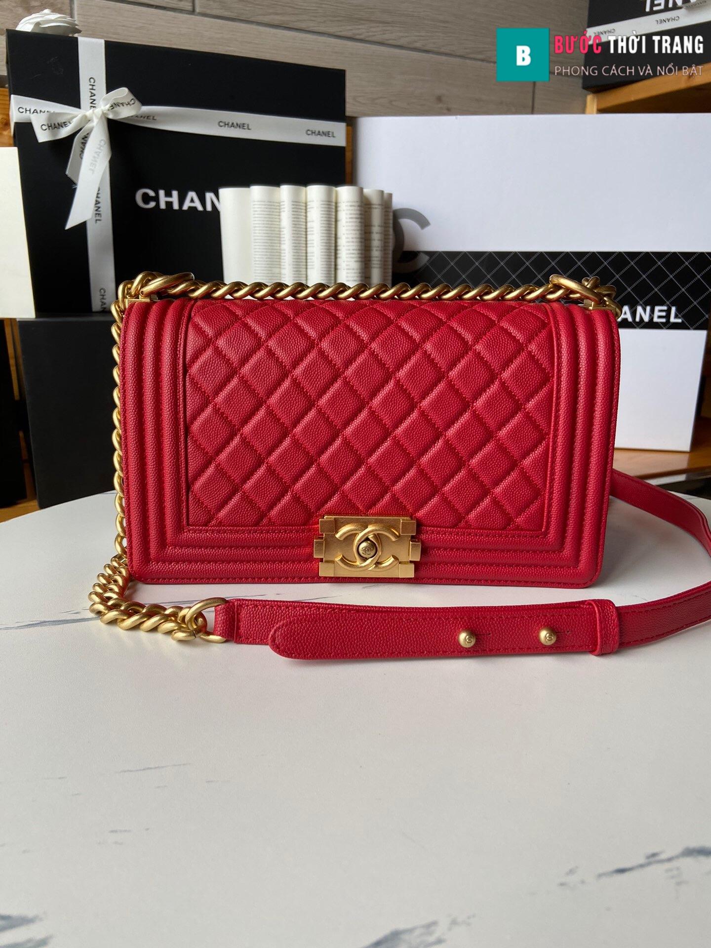 Túi xách Chanel boy siêu cấp – A67086 (37)