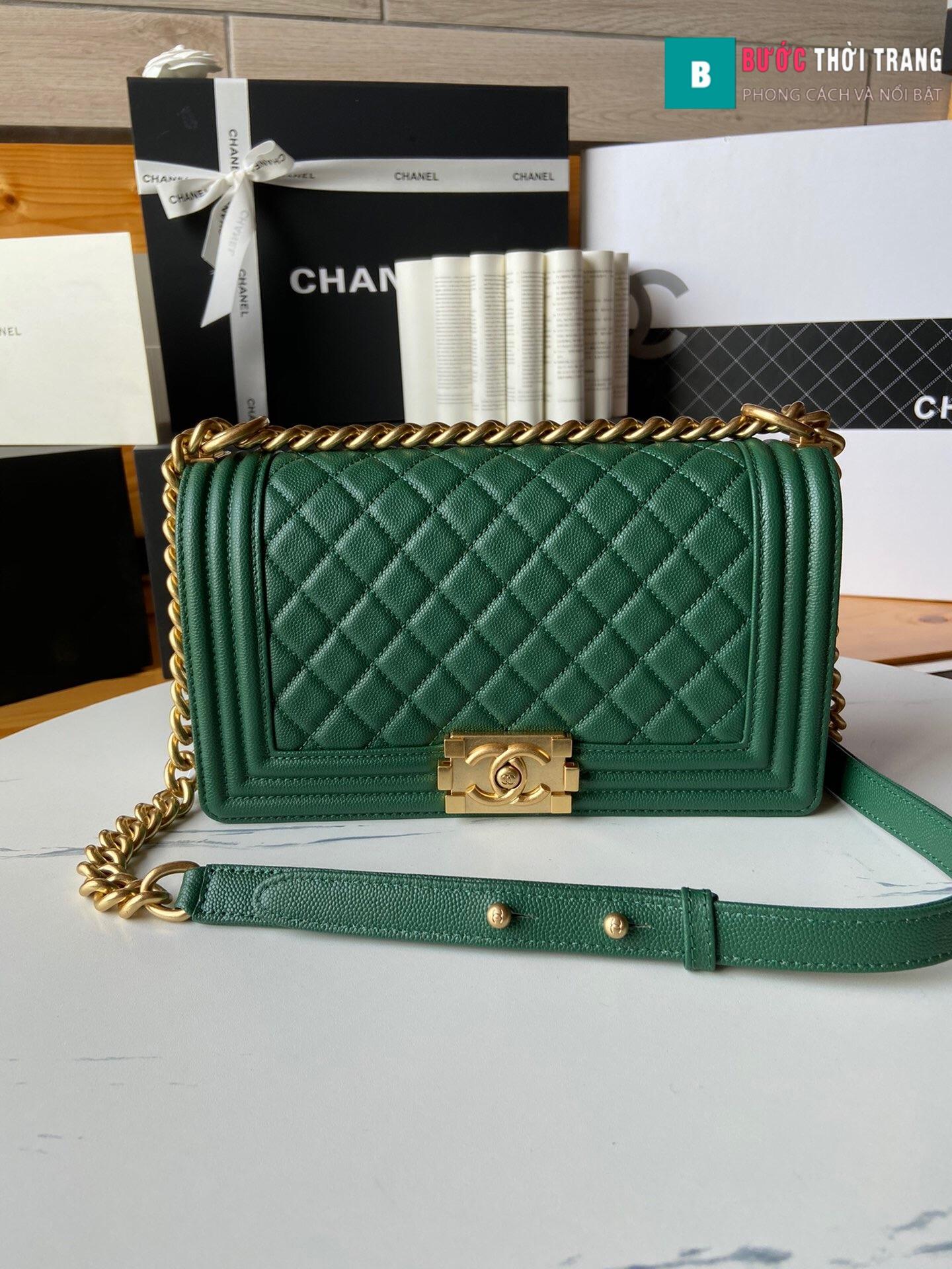Túi xách Chanel boy siêu cấp – A67086 (46)