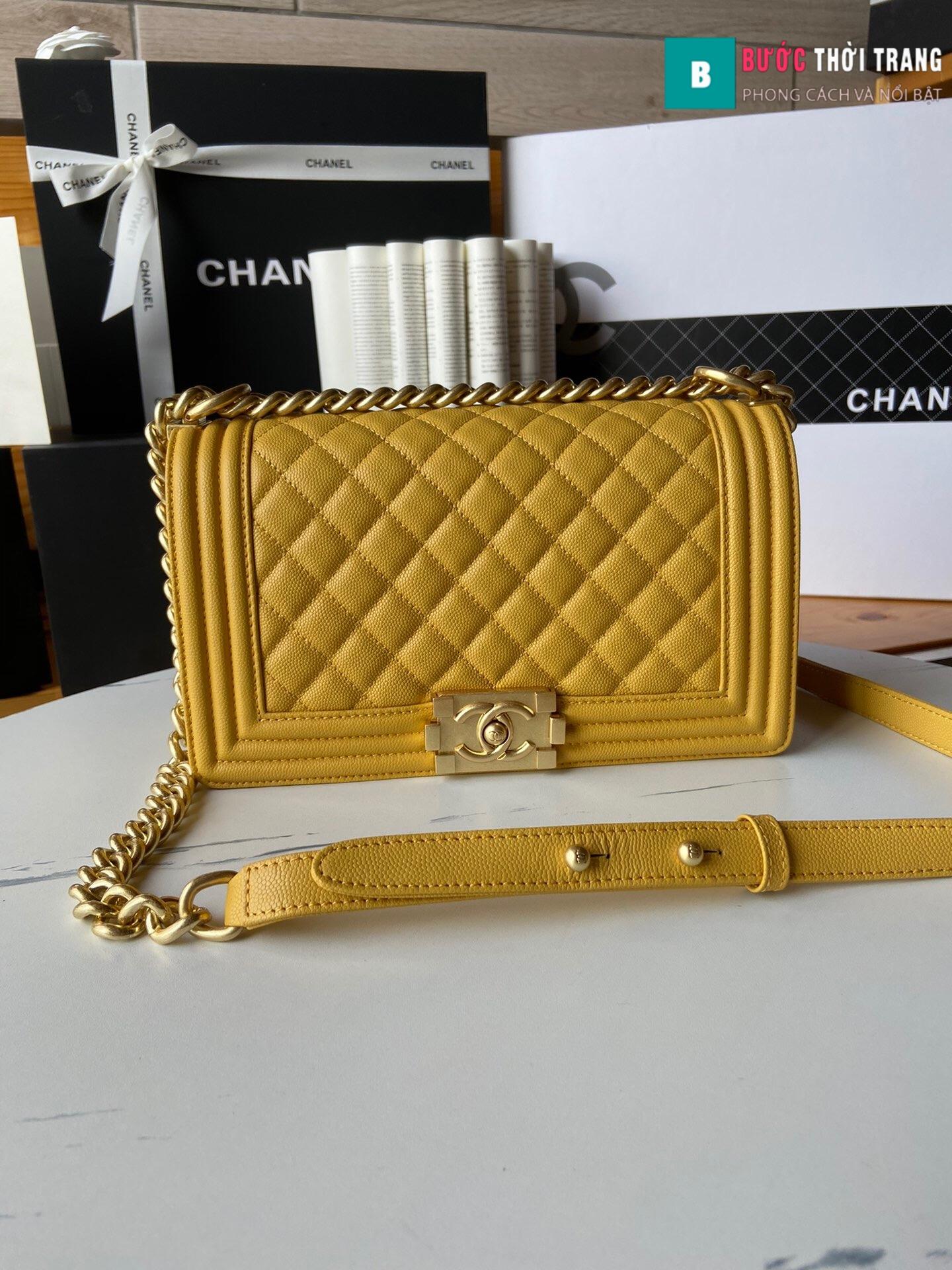 Túi xách Chanel boy siêu cấp – A67086 (55)