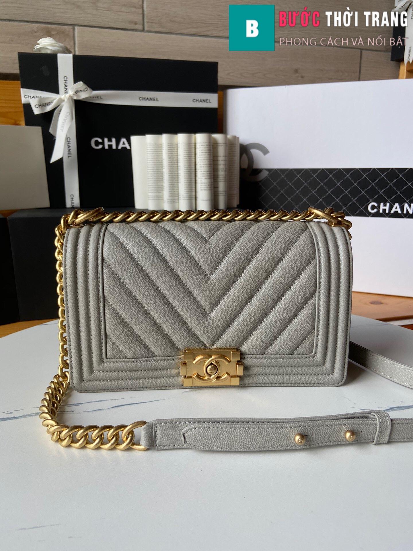 Túi xách Chanel boy siêu cấp – A67086 (63)