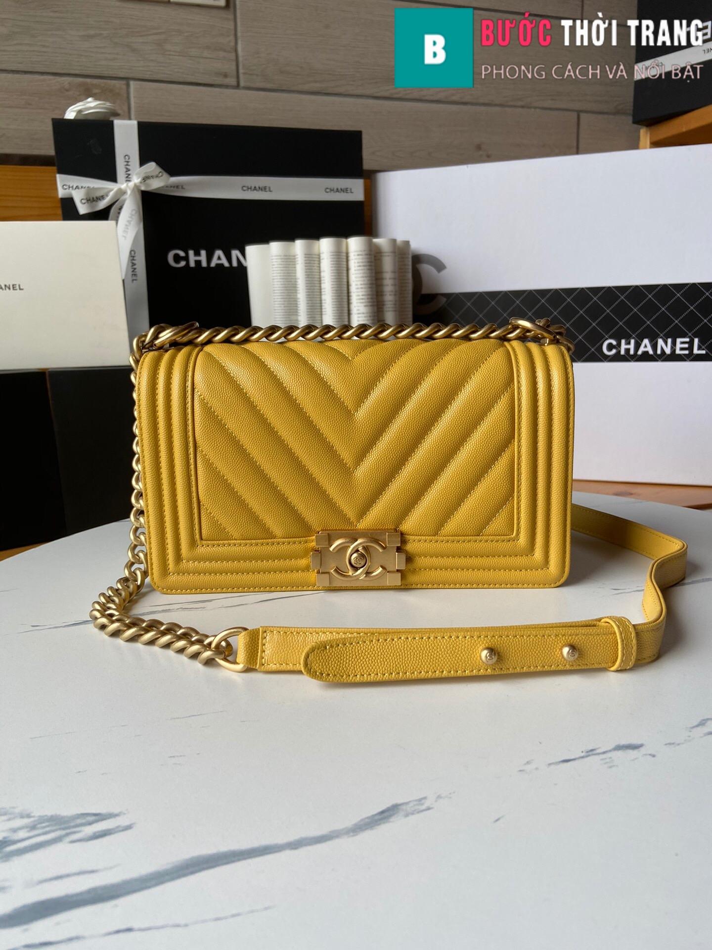 Túi xách Chanel boy siêu cấp – A67086 (72)