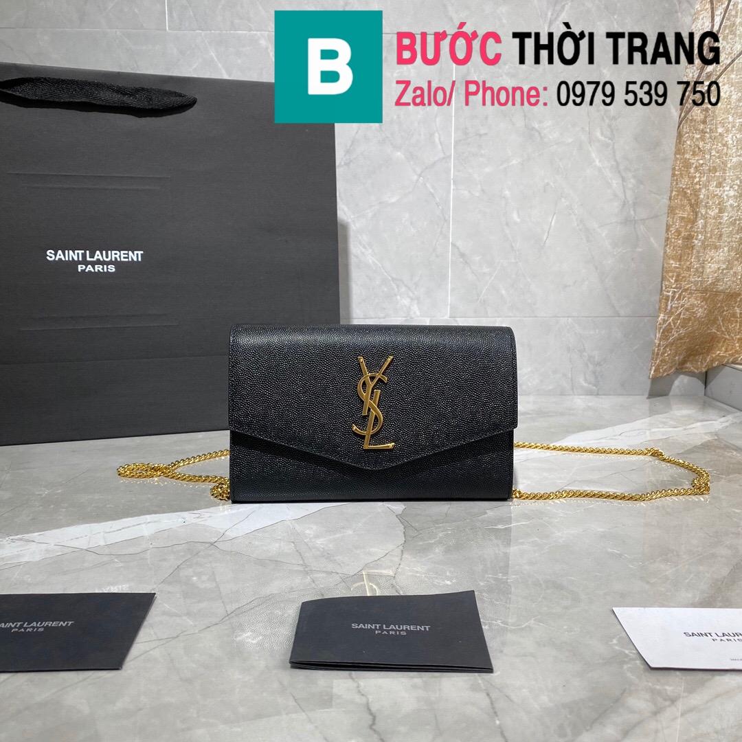 Túi ví tay cầm dây đeo YSL Saint Lauren (17)