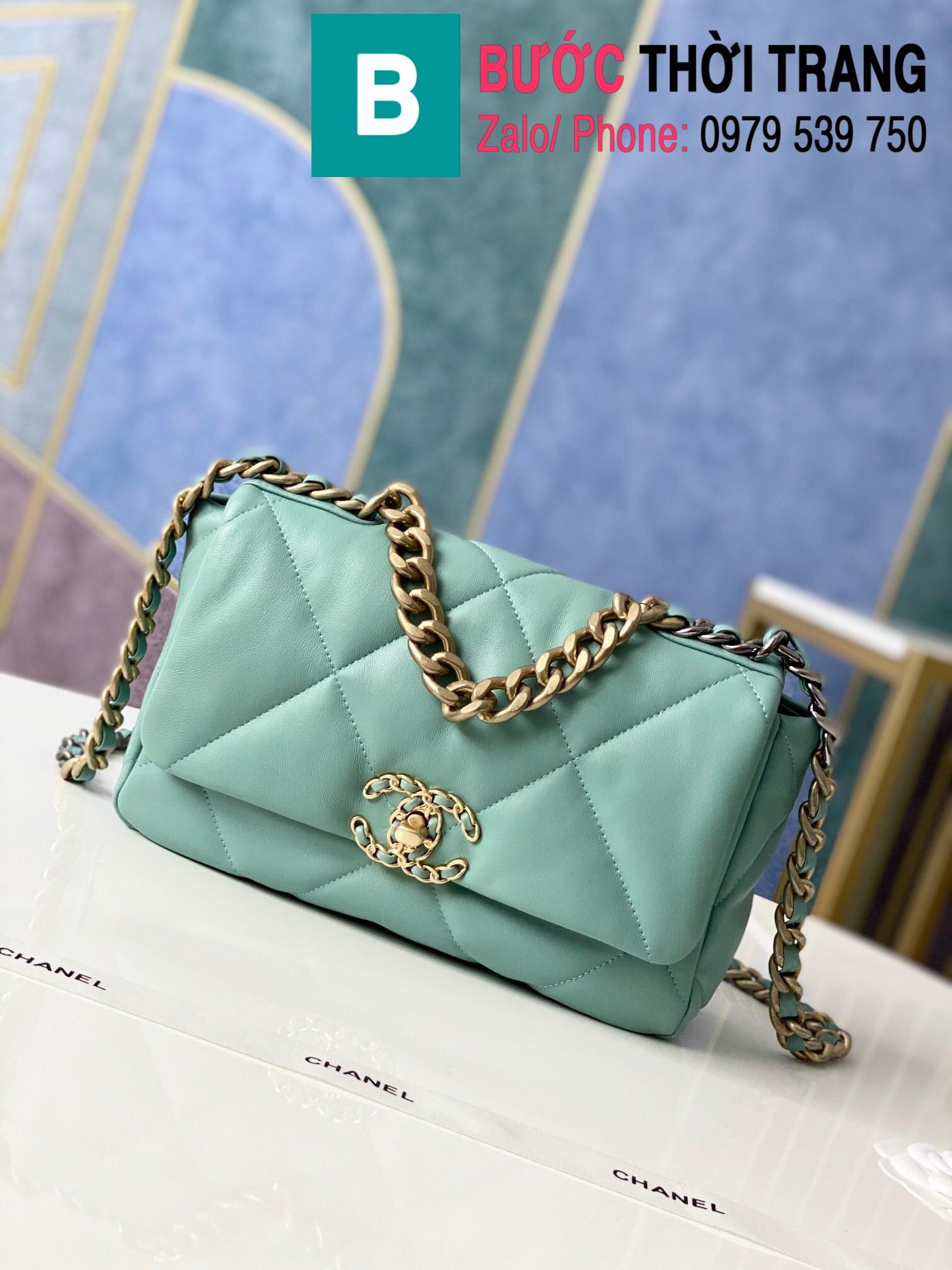 Túi xách Chanel 19 flap bag (26)
