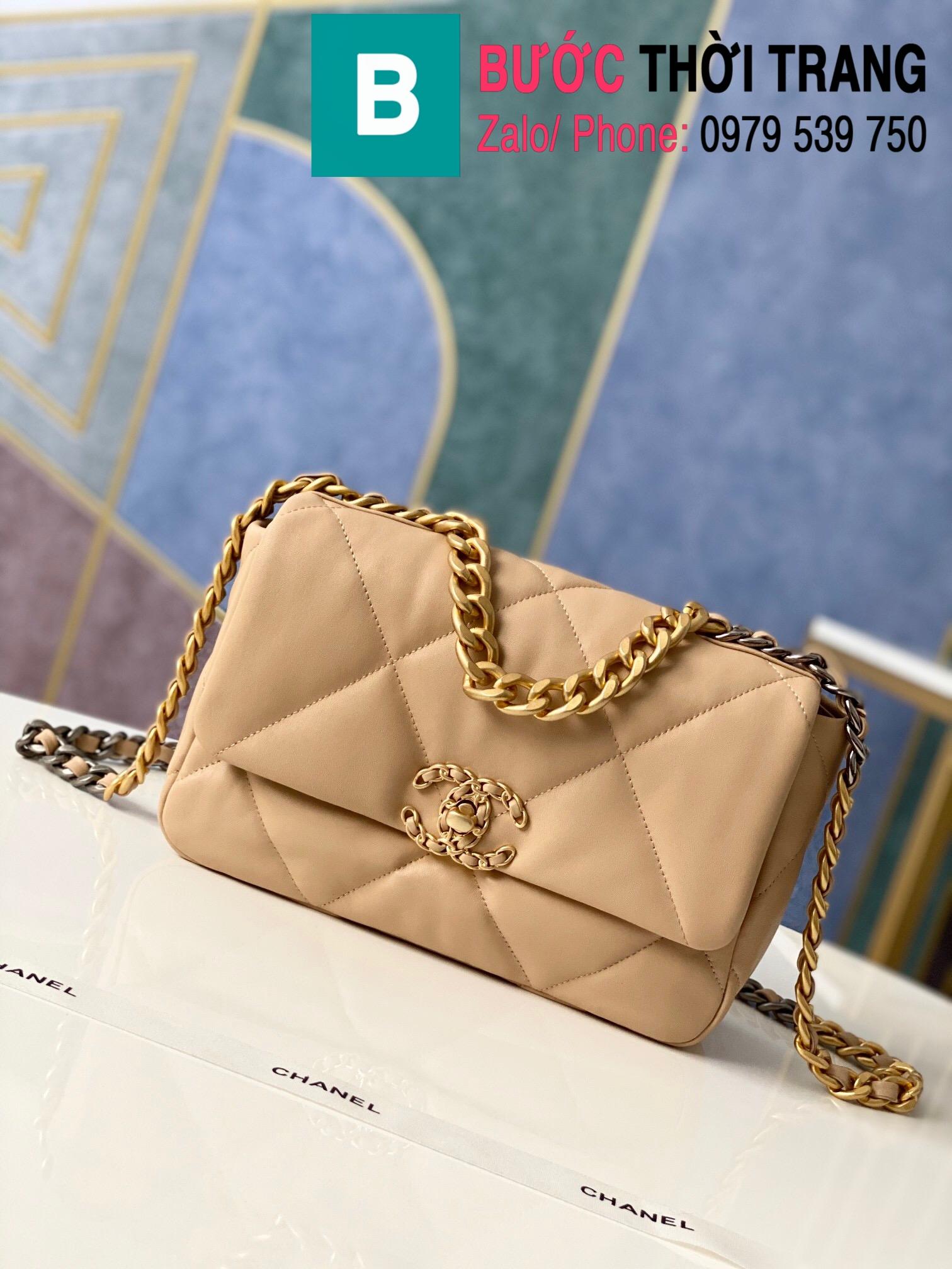 Túi xách Chanel 19 flap bag (35)
