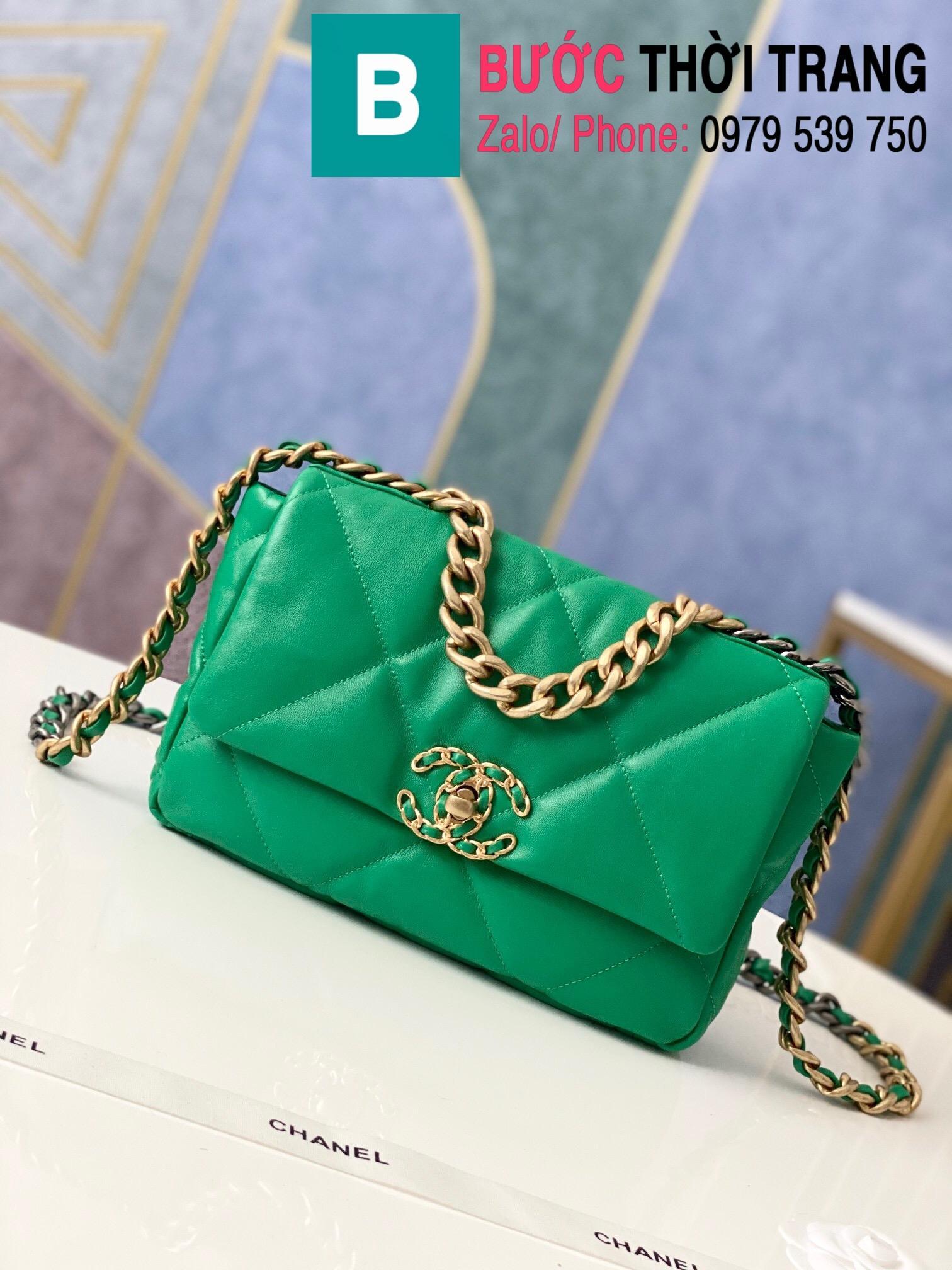 Túi xách Chanel 19 flap bag (44)