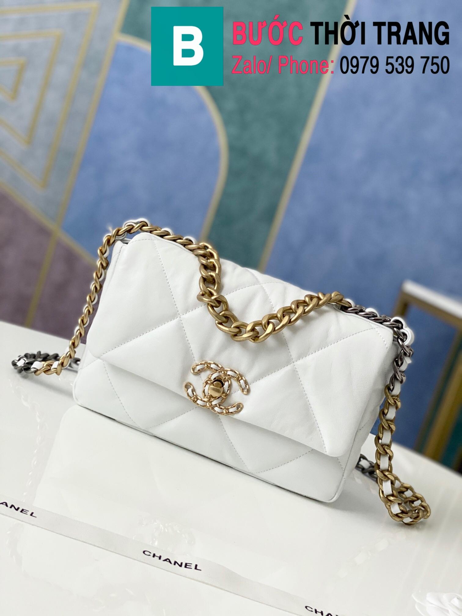 Túi xách Chanel 19 flap bag (53)