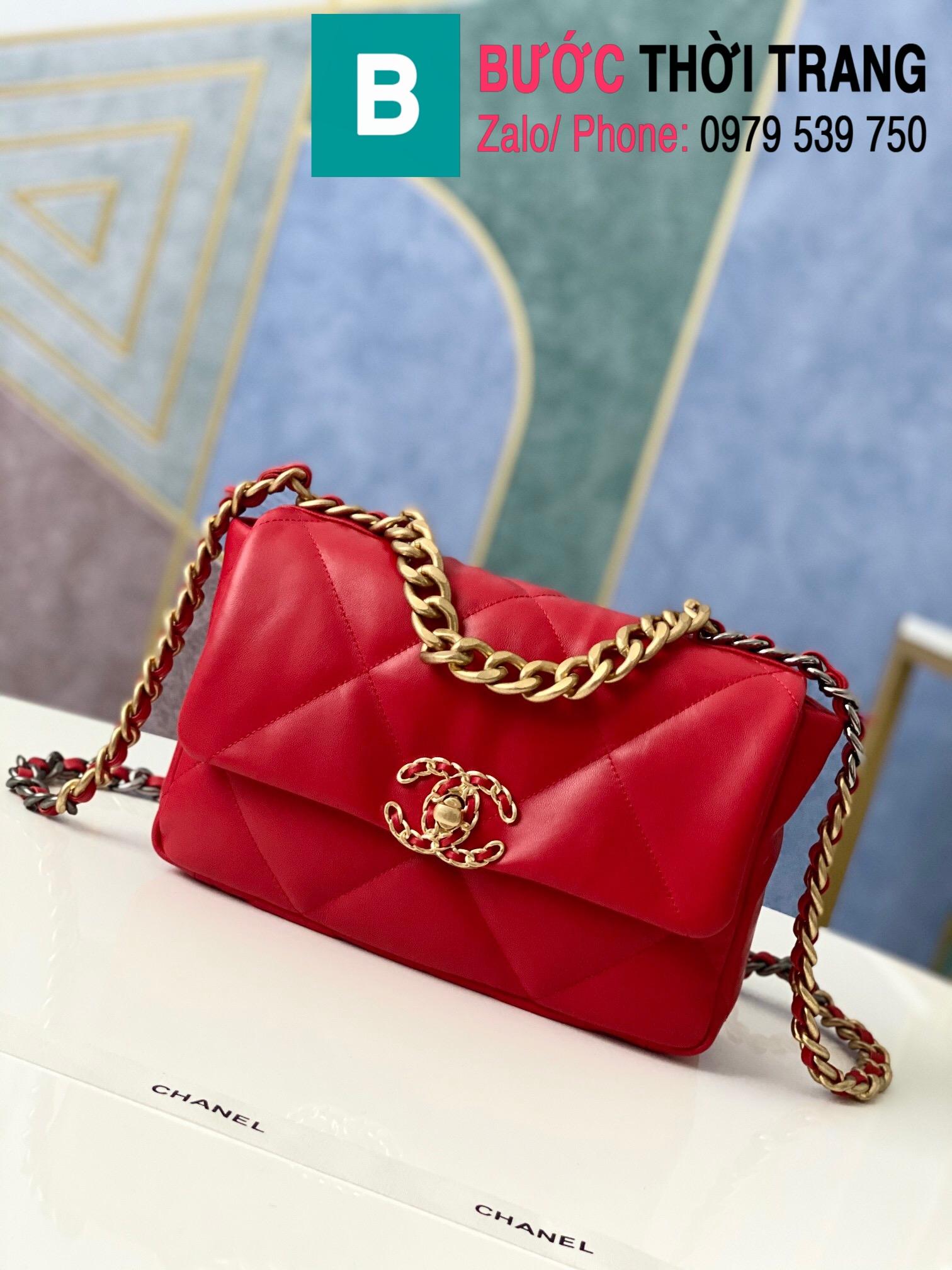 Túi xách Chanel 19 flap bag (62)