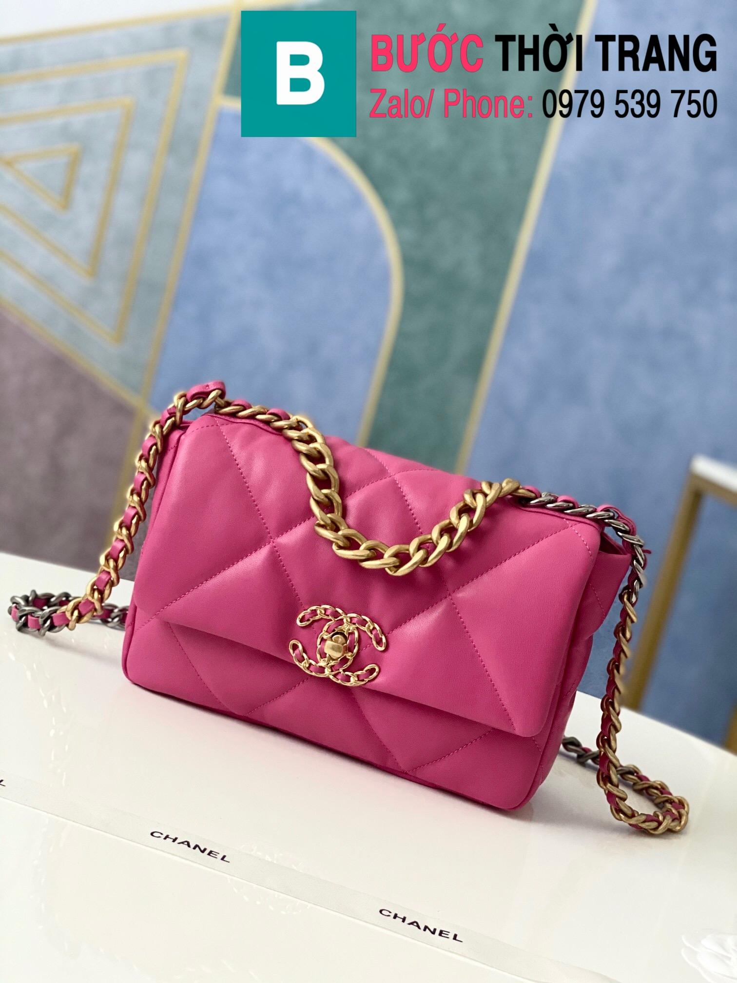 Túi xách Chanel 19 flap bag (71)