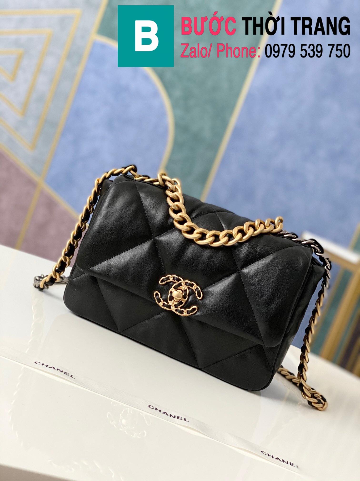 Túi xách Chanel 19 flap bag (80)