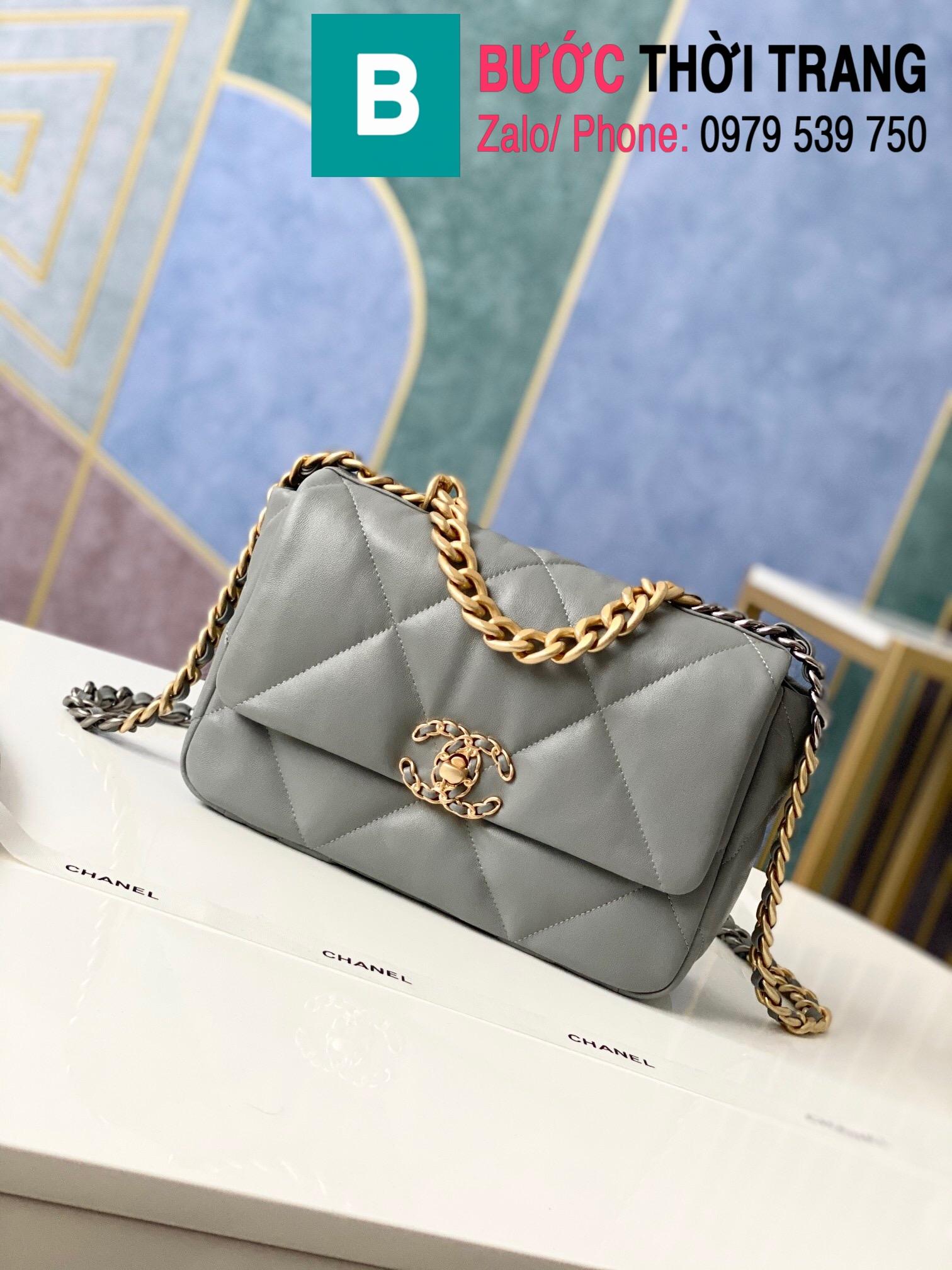 Túi xách Chanel 19 flap bag (89)