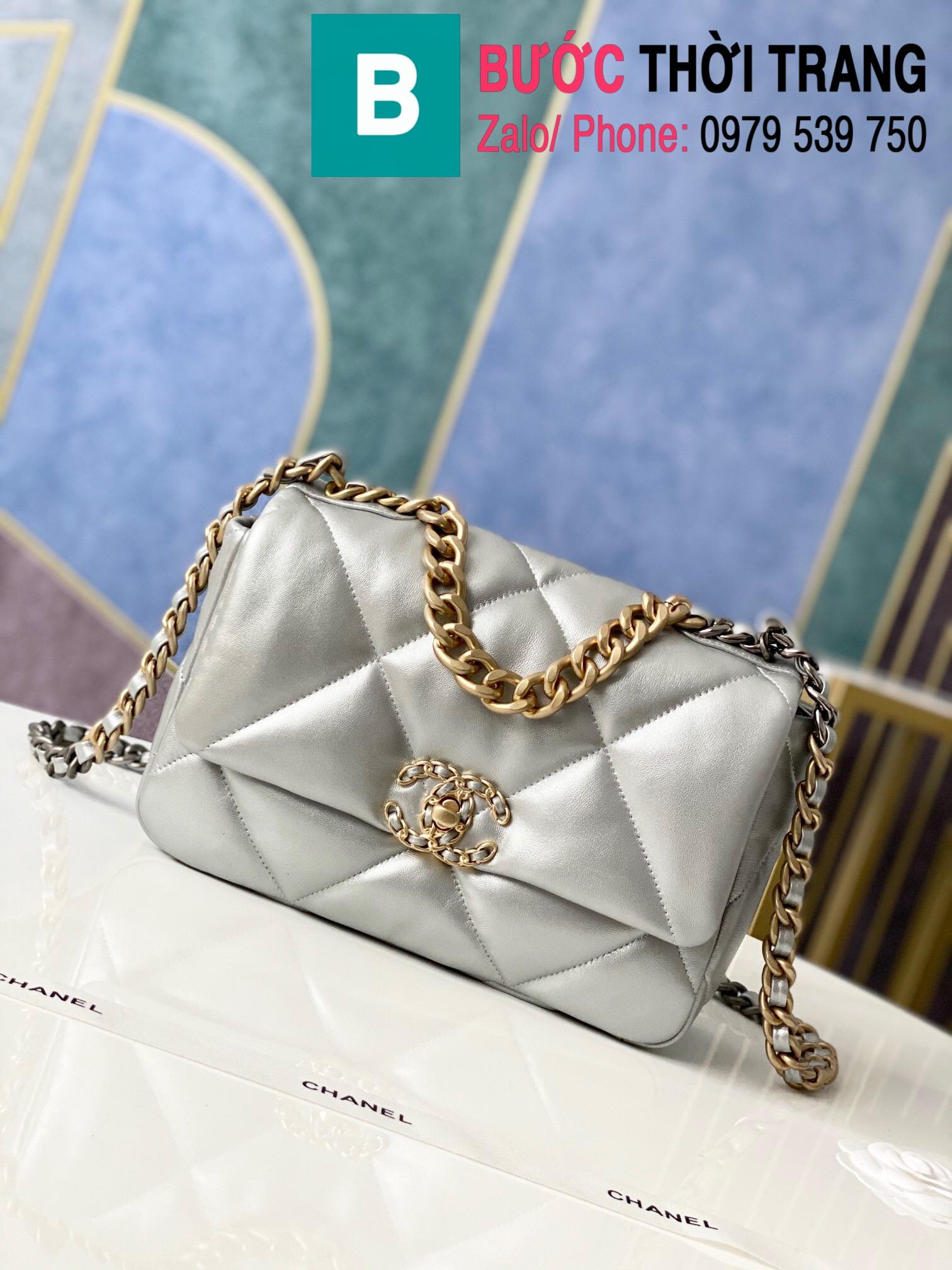 Túi xách Chanel 19 flap bag (9)