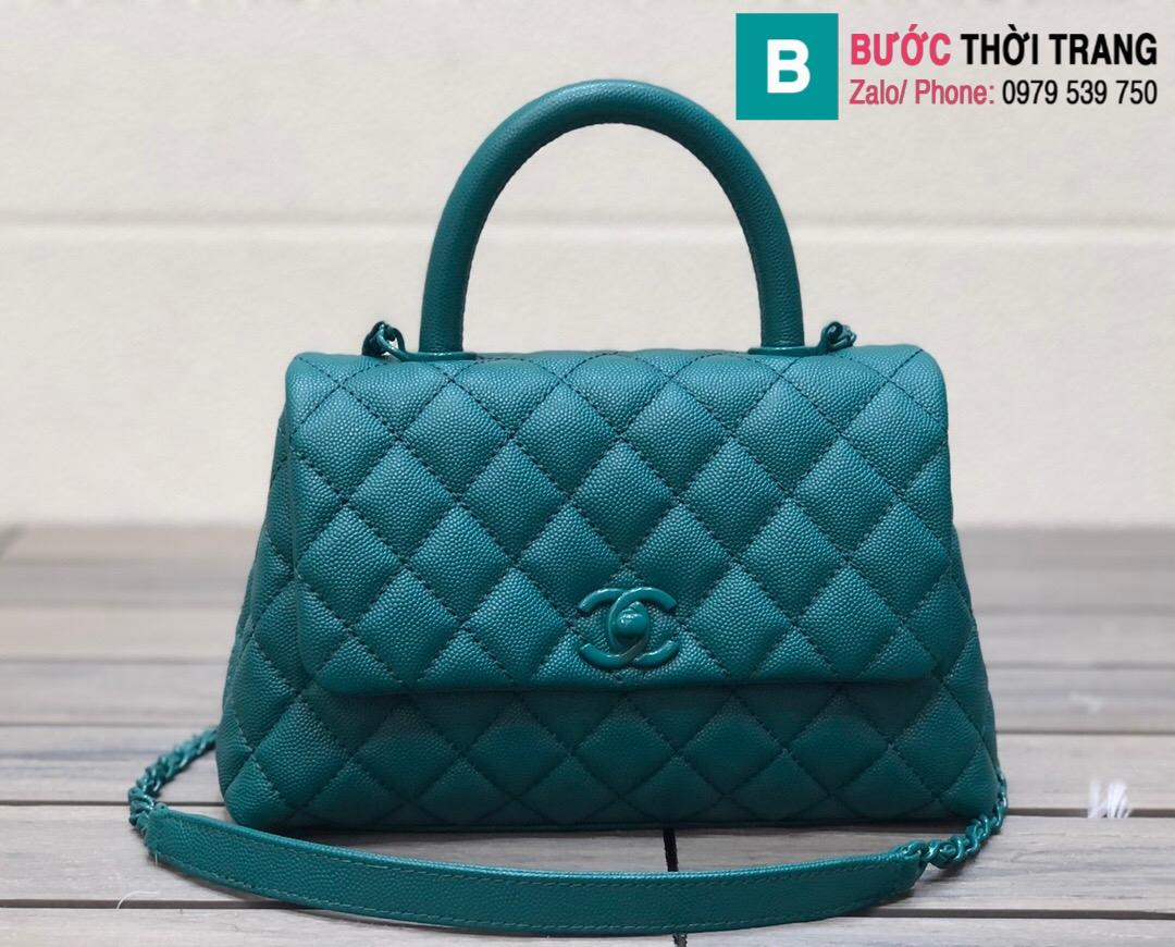 Túi xách Chanel Cocohandle Flap bag (28)