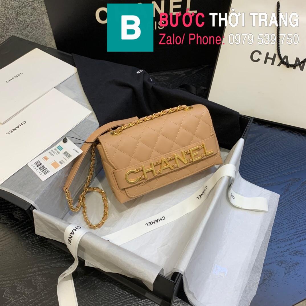 Túi xách Chanel Logo Small Flap Bag (10)