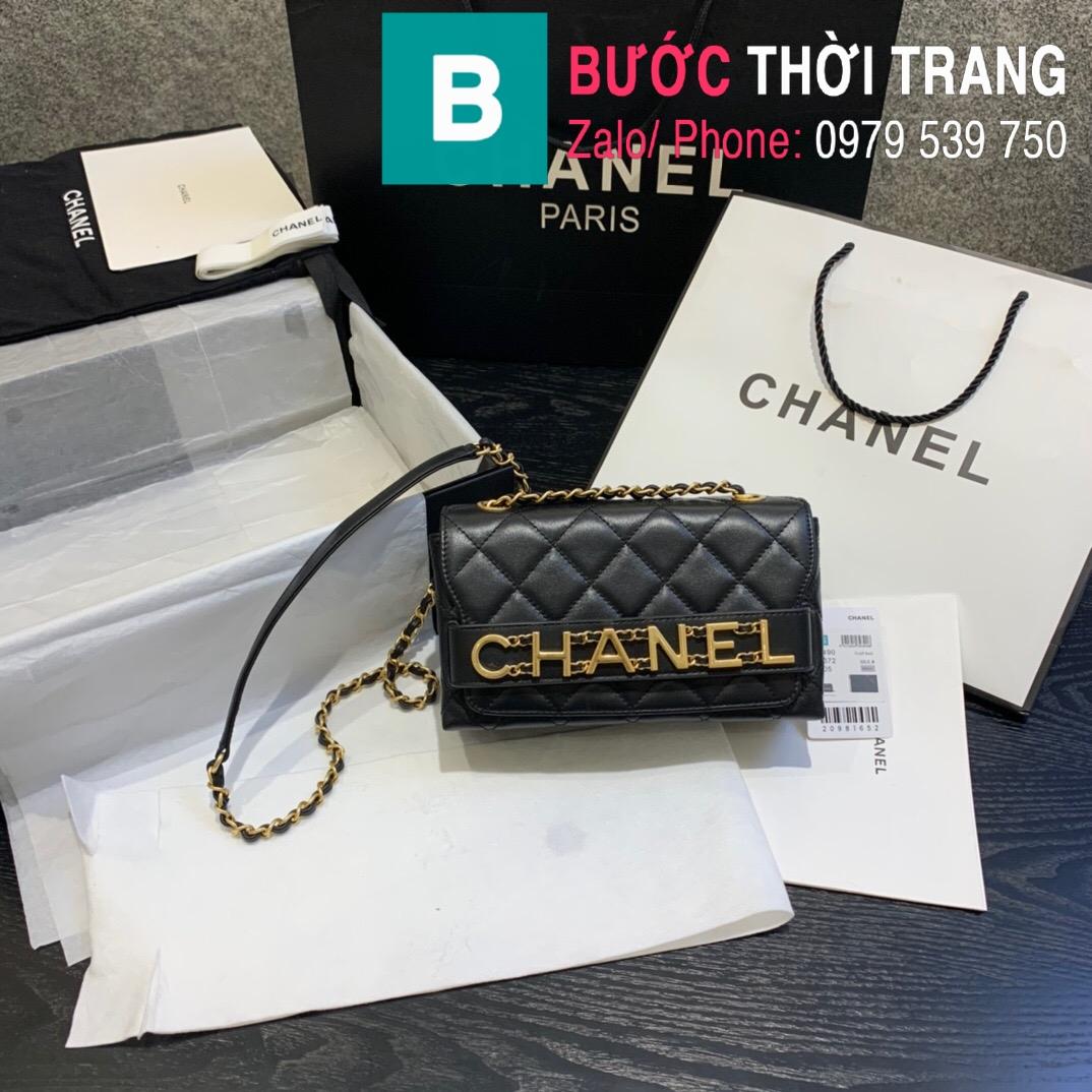 Túi xách Chanel Logo Small Flap Bag (28)