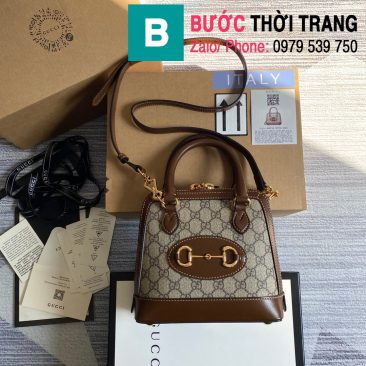 Túi xách Gucci Hosebit 1955 mini top handle bag (1)