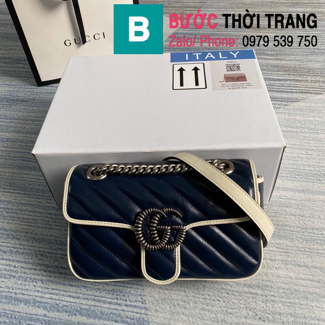 Túi xách Gucci Marmont matelaseé mini bag (73)