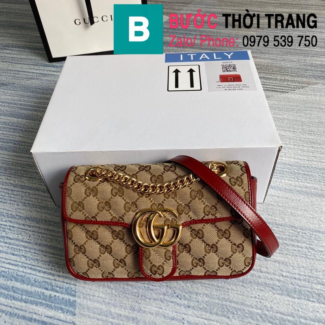 Túi xách Gucci Marmont matelaseé mini bag (91)