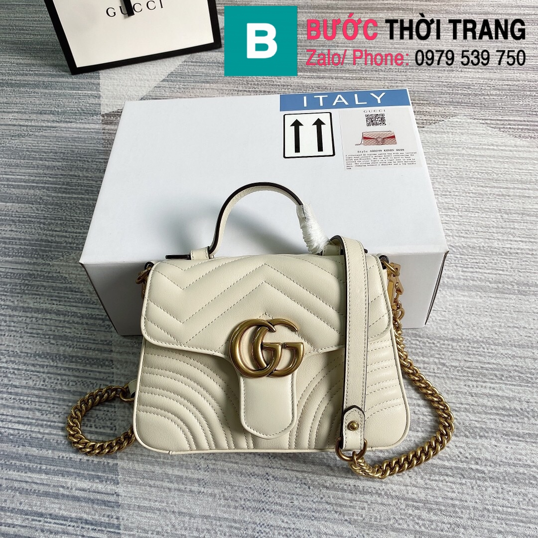 Túi xách Gucci Marmont mini top handle (1)