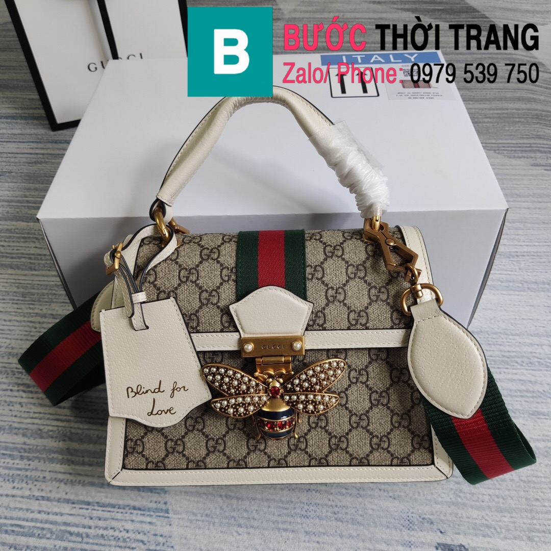 Túi xách Gucci Queen Margaret GG (19)