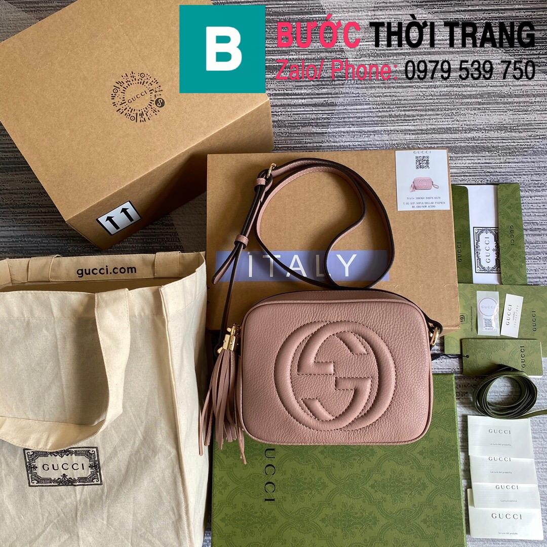 Túi xách Gucci Soho Small Leather Disco bag (1)