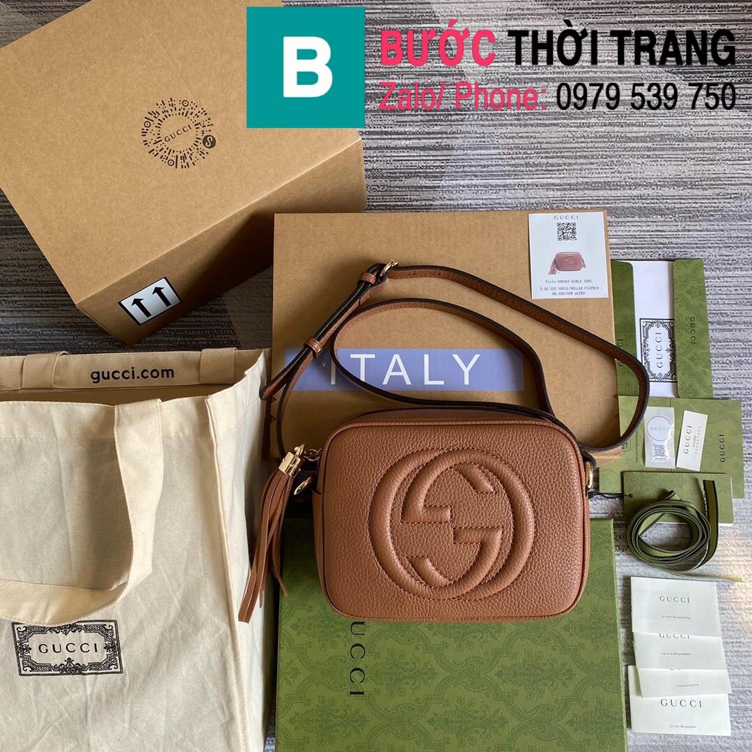 Túi xách Gucci Soho Small Leather Disco bag (10)